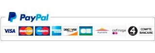 cartes de crédit acceptées par paypal